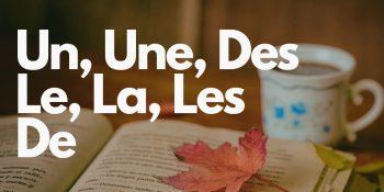 Артикли французского языка