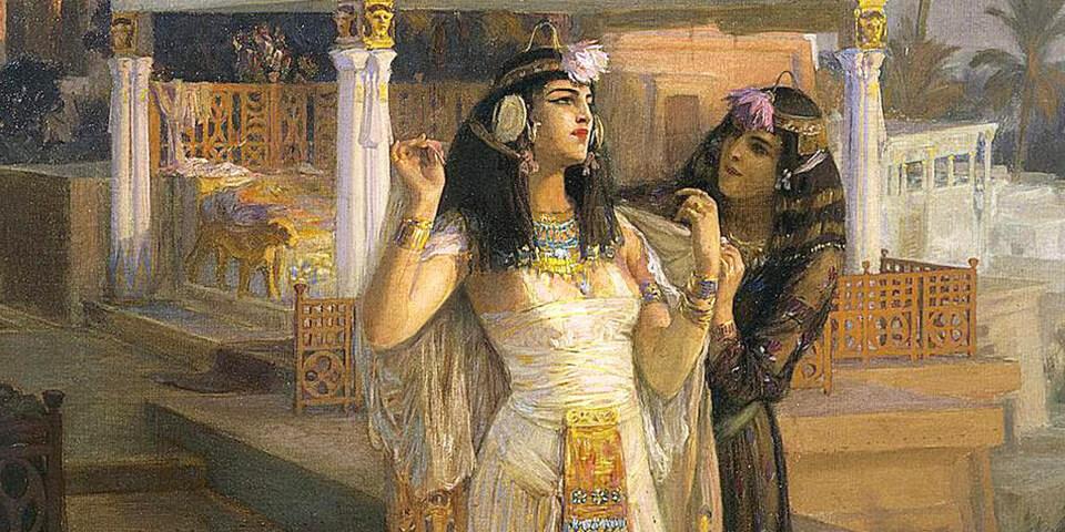 история клеопатры