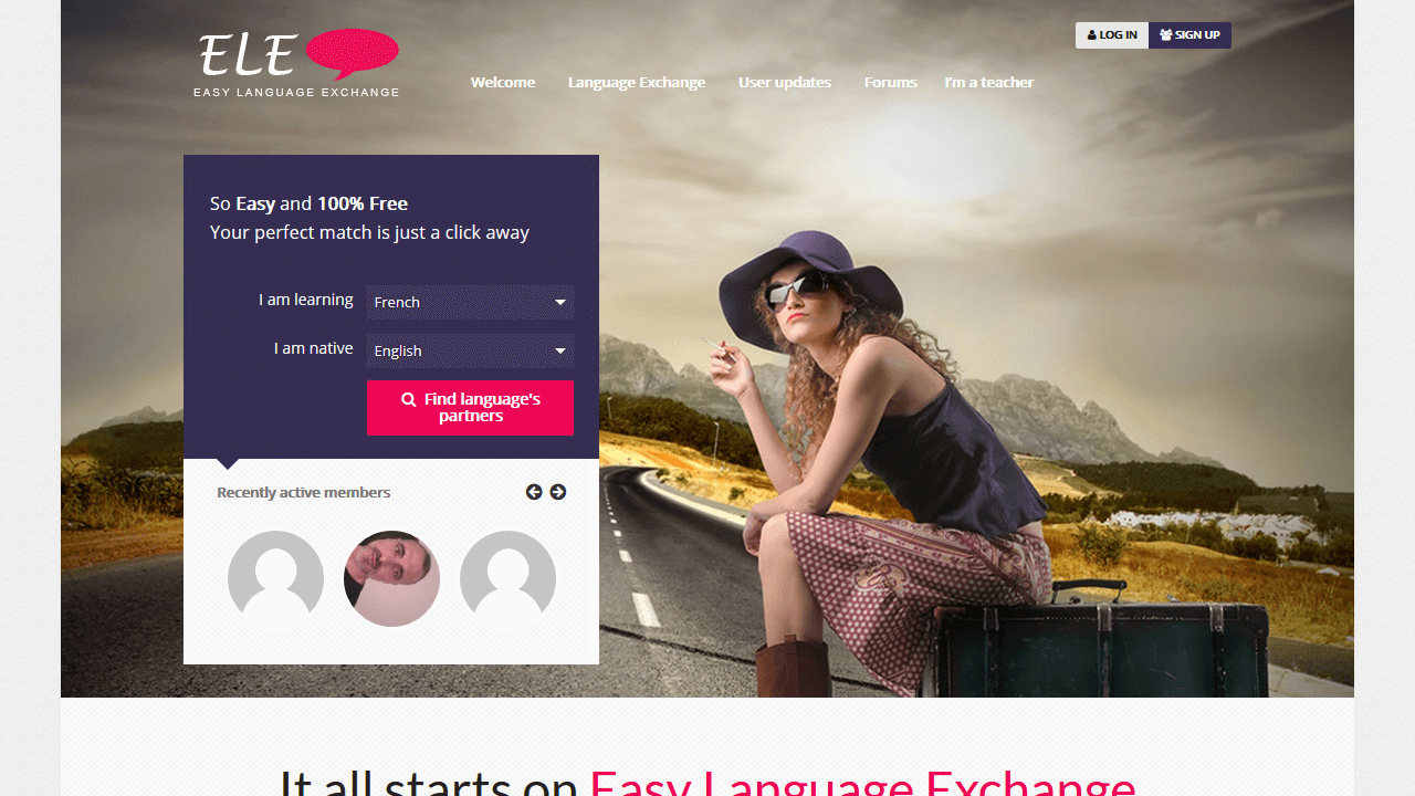 easylanguageexchange.com