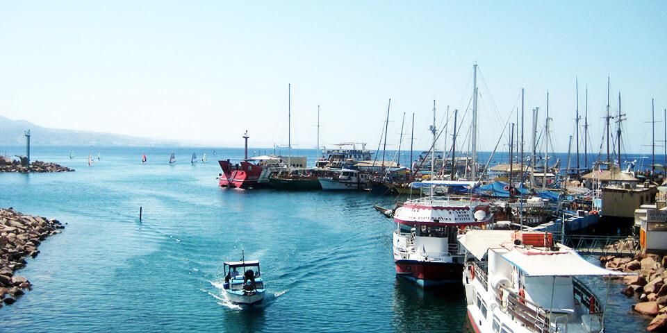 эйлат, израиль, морская прогулка