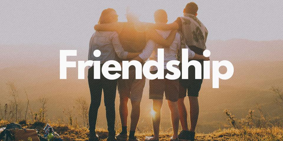 английские фразы о дружбе