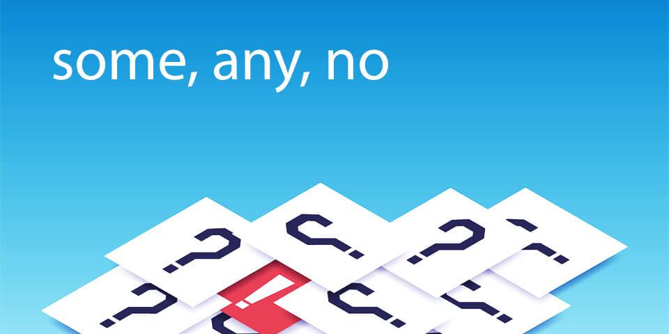 тест по местоимениям some, any, no