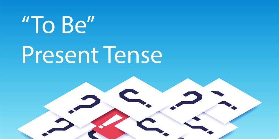 глагол to be в настоящем времени тест