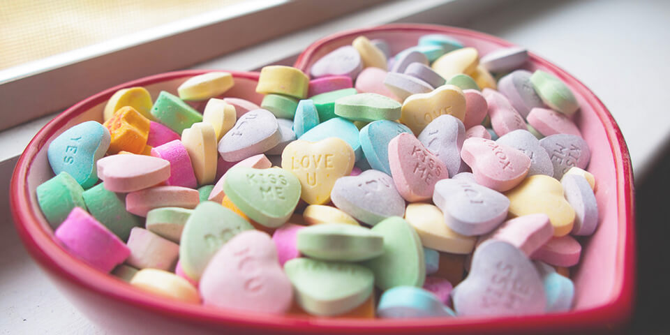 Шоколадные конфеты в подарок